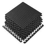 Gaiam Essentials Interlocking Exercise Mat - Square Puzzle Foam Tiles...
