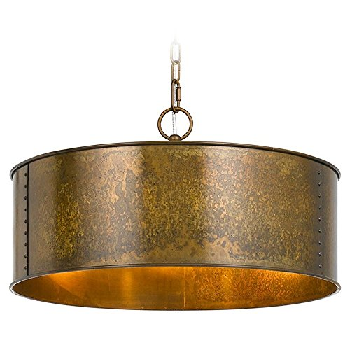 cal-lighting-rochefort-distress-gold-pendant-light-with-drum-shade