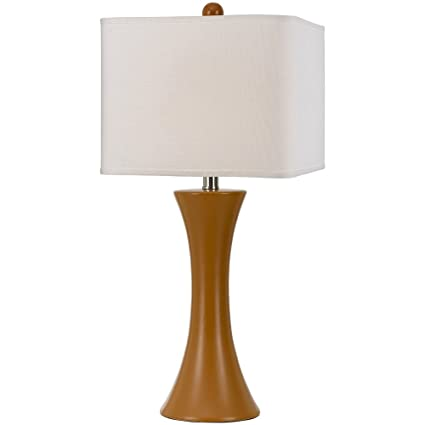 Af Lighting 8558 Tl Madison Ceramic Table Lamp Orange Table Lamps