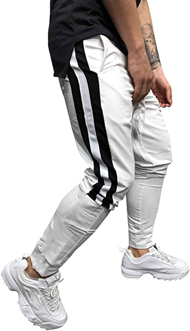 JiaMeng Pantalones Deportivos Hombre Cargo Joggers Sport ...