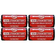 SureFire SF123A 3-Volt Lithium Battery-4-pack