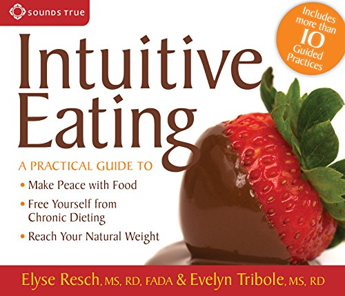 intuitive eating vs dieting I consider intuitive eating a broader philosophy, which includes physical activity for the sake of feeling good, rejecting the dieting mentality, using nutrition information without judgment, and respecting your body, regardless of how you feel about its shape.