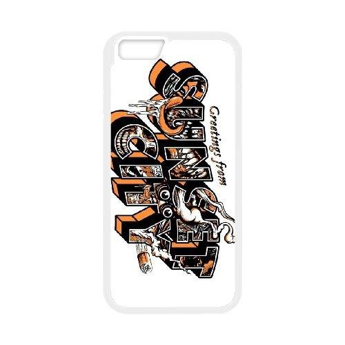 Sunset Overdrive 19 coque iPhone 6 4.7 Inch cellulaire cas coque de téléphone cas blanche couverture de téléphone portable EEECBCAAN05906