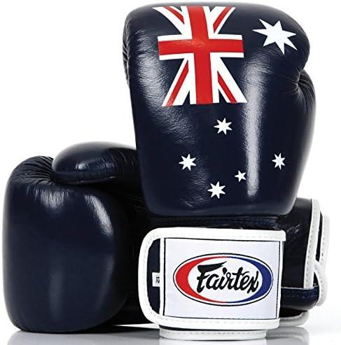 FAIRTEX MUAY THAI KICK BOXING MMA GLOVES THAI FLAG SPARRING BGV1 TIGHT FIT