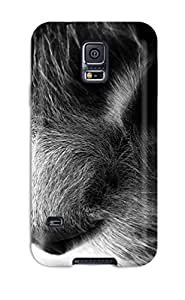 Durable Rainbow Cat Back Case/cover For Galaxy S5