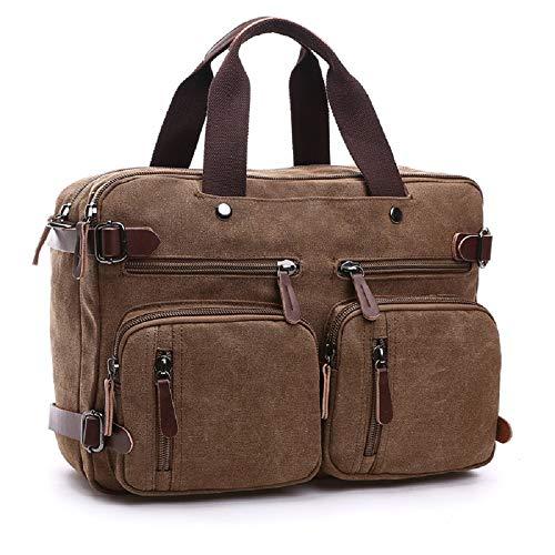 Shoulder Uni Bag Men Business Laptop Travel Folder Brown Bagmessenger Sport Work Zhrui Bags Satchels Briefcase apqxwv5U