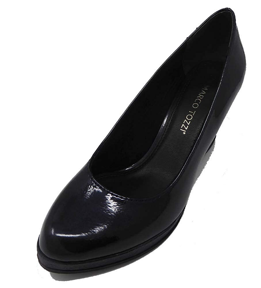 MARCO Navy TOZZI Damen 22440 Plateaupumps Navy MARCO (Navy Patent) 770810