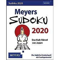 Meyers Sudoku 2020 11x14cm
