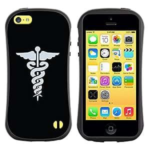 Suave TPU GEL Carcasa Funda Silicona Blando Estuche Caso de protección (para) Apple Iphone 5C / CECELL Phone case / / Doctor Hospital Medical Symbol /