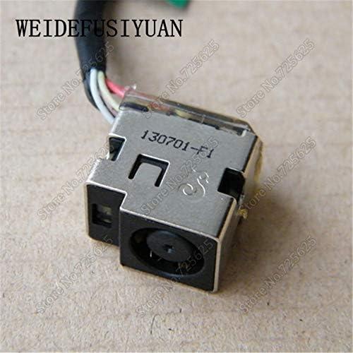 Cable Length: 7CM Computer Cables DC Power Jack Socket Connector Cable Harness for HP Pavilion TPN-L105 TPN-Q109 1000-1048TX 1000-1118TX TPN-L105 676708-SD1