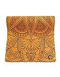 Mandala Design Cork Yoga Mat by So'Ham Yoga | Organic Cork with Natural