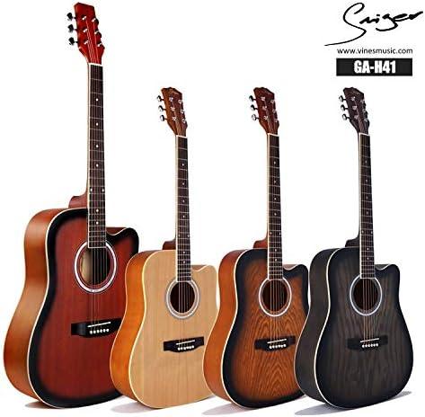 SUNXK Conseguir Abeto Tilo Arpa Guitarra 41 Pulgadas Guitarra ...
