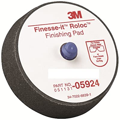 "3M 05924 Finesse-it Roloc 3"" Finishing Pad (Pack of 5): Garden & Outdoor"
