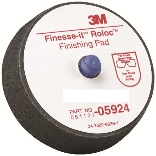 3M 05924 Finesse-it Roloc 3'' Finishing Pad (Pack of 5) by 3M