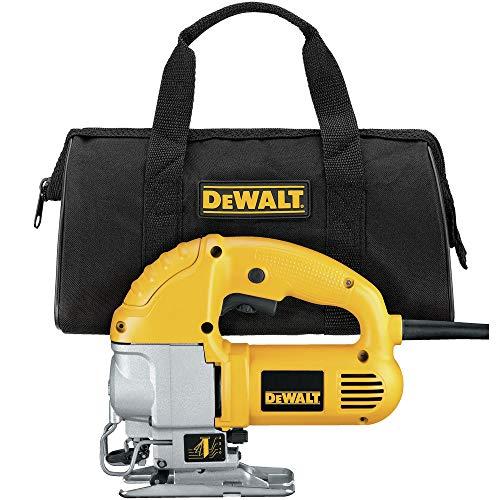 DEWALT DW317KR 5.5 Amp Top Handle Jig Saw Kit Renewed