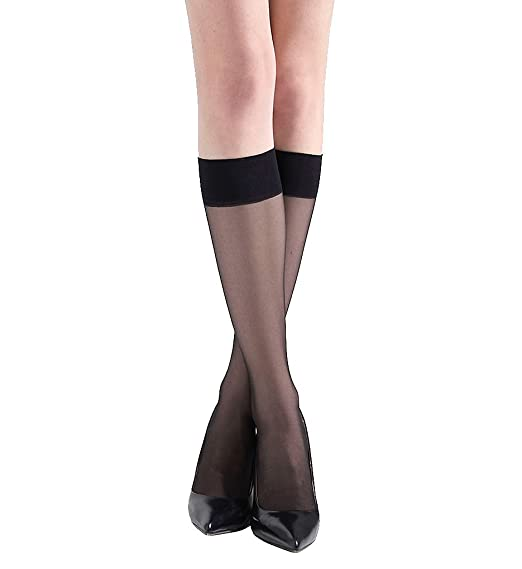 5de19a8d6ed Natori Women s Silky Sheer All Day Comfort Black One Size at Amazon ...