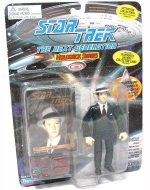 Star Trek the Next Generation Commander Data in 1940's Attire 4.5