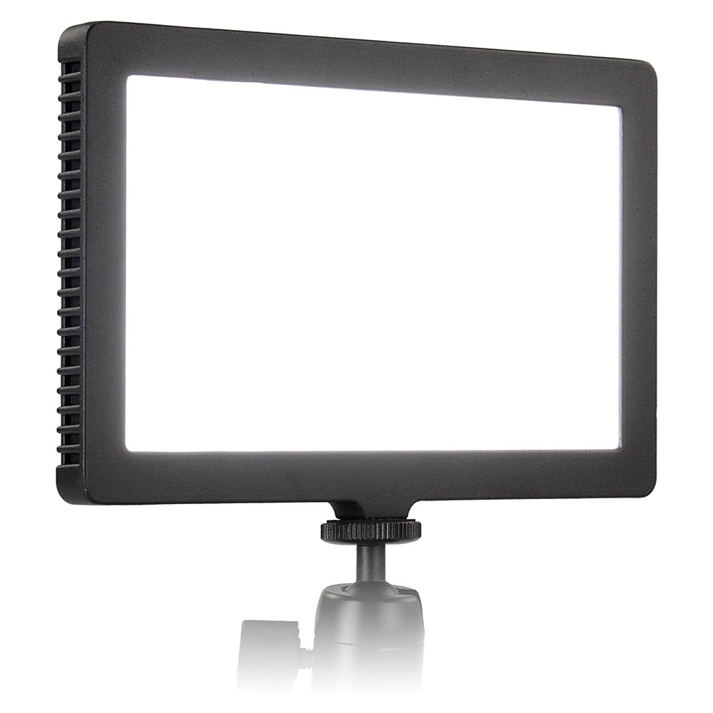 Fotodiox Pro FlapJack LED Edge Light C-200S - 5x8-Inch Rectangle Ultrathin, Ultrabright Professional Daylight LED Dimmable Photo/Video Light Kit with Case, Battery and Charger by Fotodiox