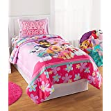 Paw Patrol Girls Full Sized 5 Piece Bedding Set - Reversible Comforter and Sheet Set