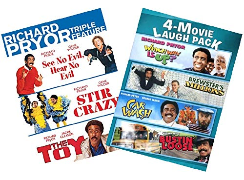 Ultimate Richard Pryor 7-Movie Comedy DVD Collection: See No Evil, Hear No Evil / Stir Crazy / The Toy / Which Way Is Up? / Brewster's Millions / Car Wash / Bustin' Loose (Richard Pryor See No Evil Hear No Evil)