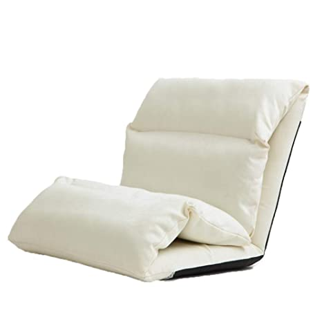 Amazon.com: QING MEI-lazy - Sofá plegable con respaldo ...