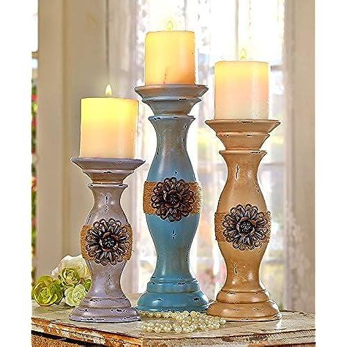 Rustic Candle Holders Amazon