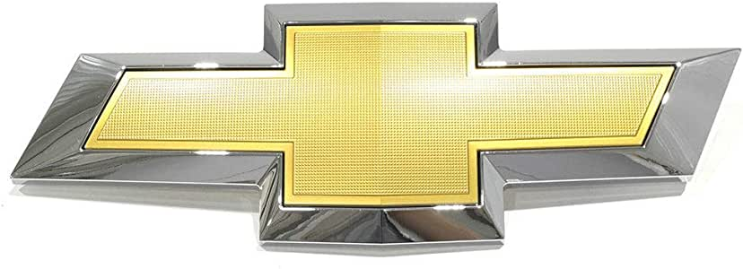 Gold Front Grille BOW TIE EMBLEM new OEM 23302976 Chevrolet Traverse Chrome