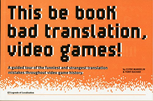 This be book bad translation, video games!