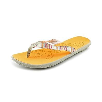 2c519bd8c616 Cushe Flipper W Womens Multi-Colored Flip Flops Sandals Shoes 5 UK   Amazon.co.uk  Shoes   Bags