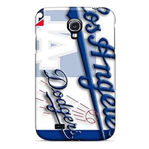 Hot Snap-on Los Angeles Dodgers Hard Cover Case/ Protective Case For Galaxy S4
