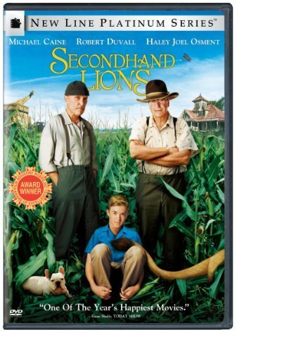 Secondhand Lions [DVD] [2003] [Region 1] [US Import] [NTSC]