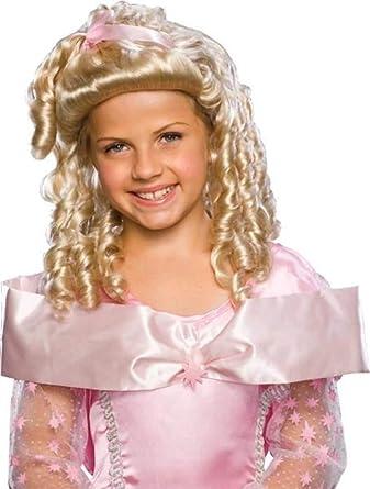 Child/'s Orange Candy Curls Wig