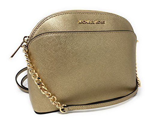 Michael Kors Gold Handbag - 4
