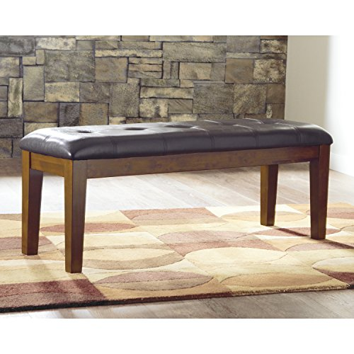 Signature Design by Ashley Ralene Brown Leatherette Dining Bench
