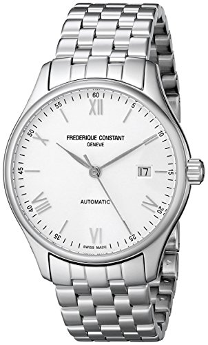 Frederique-Constant-Mens-FC303WN5B6B-Index-Analog-Display-Swiss-Automatic-Silver-Tone-Watch