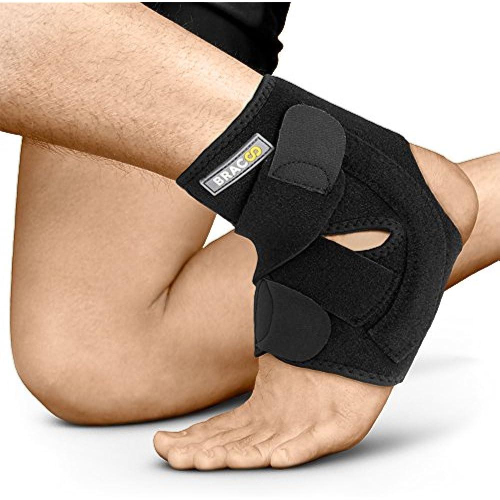 Ankle Brace, Braces Dual Spring Stabilizers, Open-Heel
