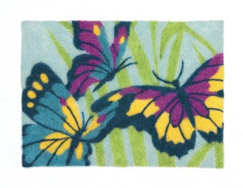 Dimensions Needlecrafts Felt Art Butterflies Needle Felting by Dimensions Needlecrafts