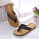 Men Flip Flops Slippers Flat Sandals Letter Comfort Beach Shower Thongs Fashion Casual Summer Outdoor Indoor Shoes
