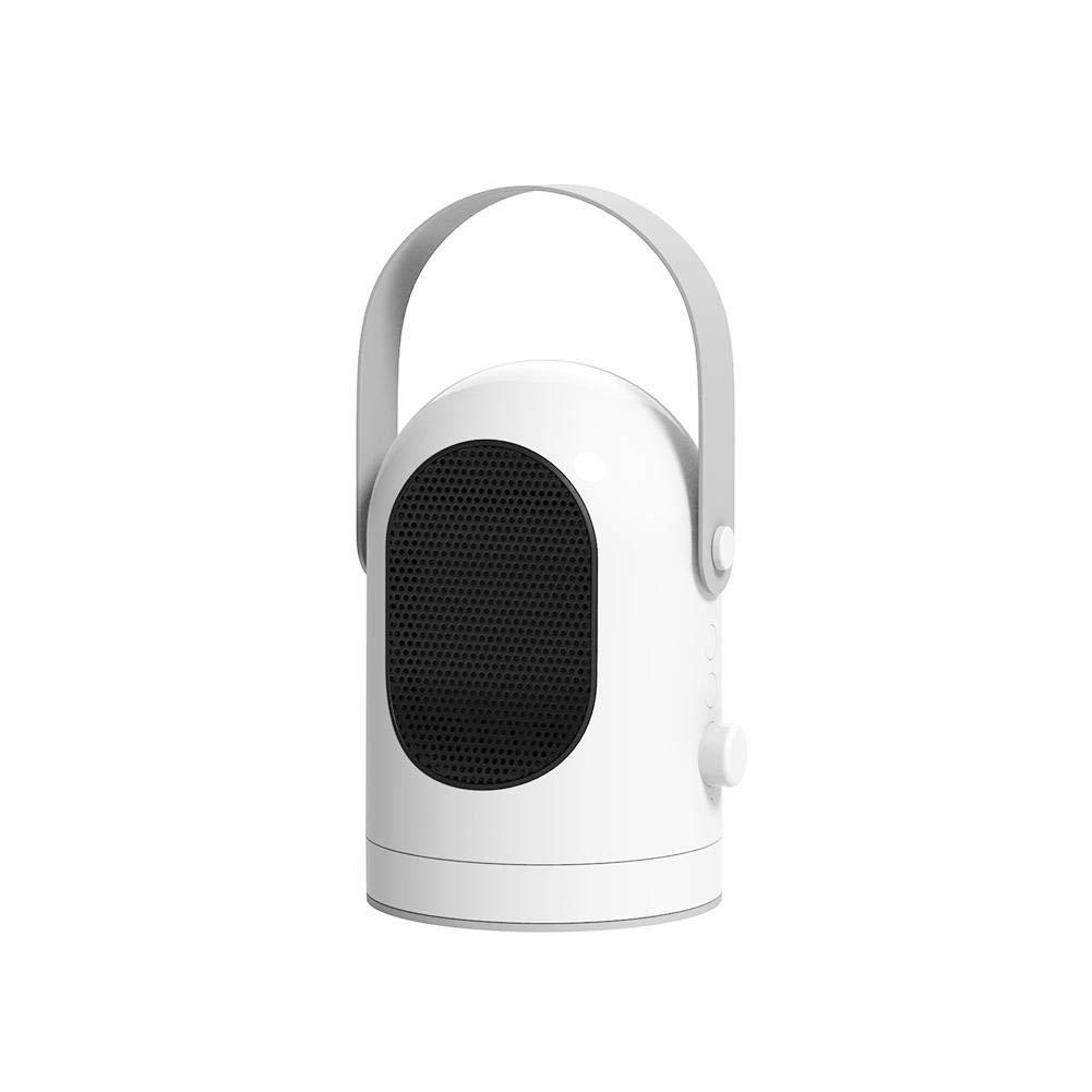 Acquisto Riscaldatore Portatile In Ceramica Ventola Riscaldatore Di Vibrazione, 3 Impostazioni Di Riscaldamento, Protezione Di Sicurezza, Adatto Per Piccole Stanze, Caravan,White Prezzi offerte