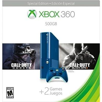 Microsoft 3M6-00052 Xbox 360 500GB Console Blue