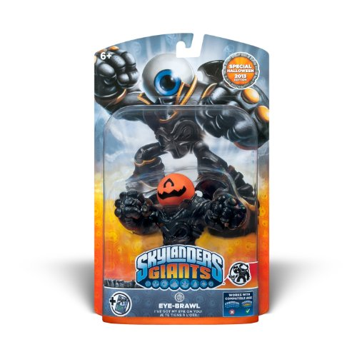Skylanders Giants Pumpkin Eye Brawl Special Halloween 2013