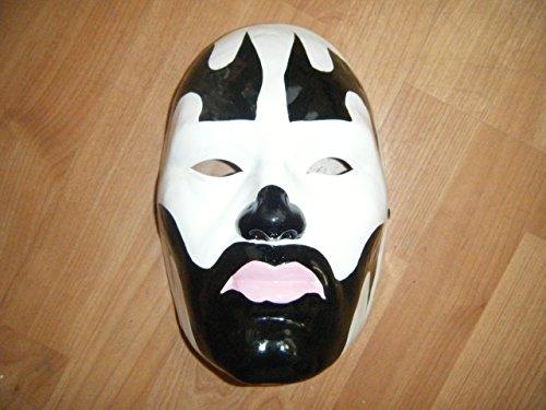 WRESTLING MASKS UK Insane Clown Posse - Thermo Plastic- Universal Mask- Black]()