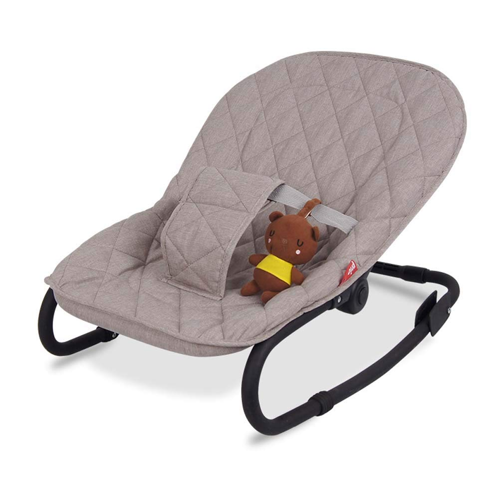 ZWQ kids Rocking Chair to Increase The Baby Cradle, Baby Comfort Recliner Shake, Swing Cradle Bed Shaker by ZWQ kids