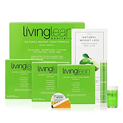 Weight Loss Cleanse Program 15 Days-All Natural Organic-Alkaline Your Body for Healthy & Sustainable Weight Loss Detox & Digestion Support-Powerful Colon, Kidney, Liver & Bowel Cleanser Living Lean