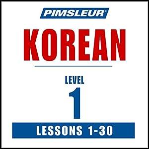 Pimsleur Korean Level 1 Speech