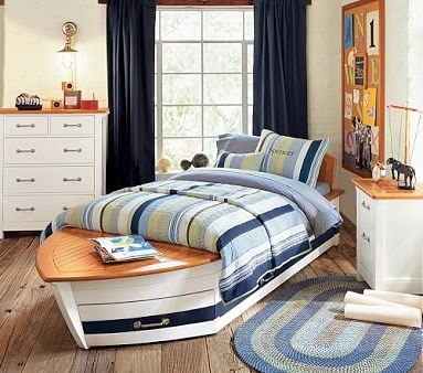Amazon.com: Pottery Barn Kids Speedboat Bedroom Set: Kitchen & Dining