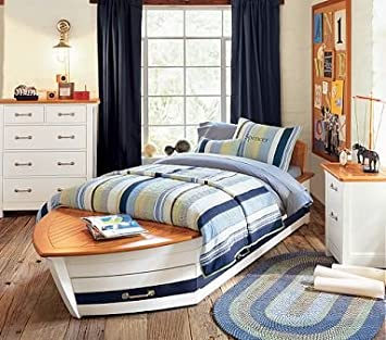 Pottery Barn Kids Speedboat Bedroom Set