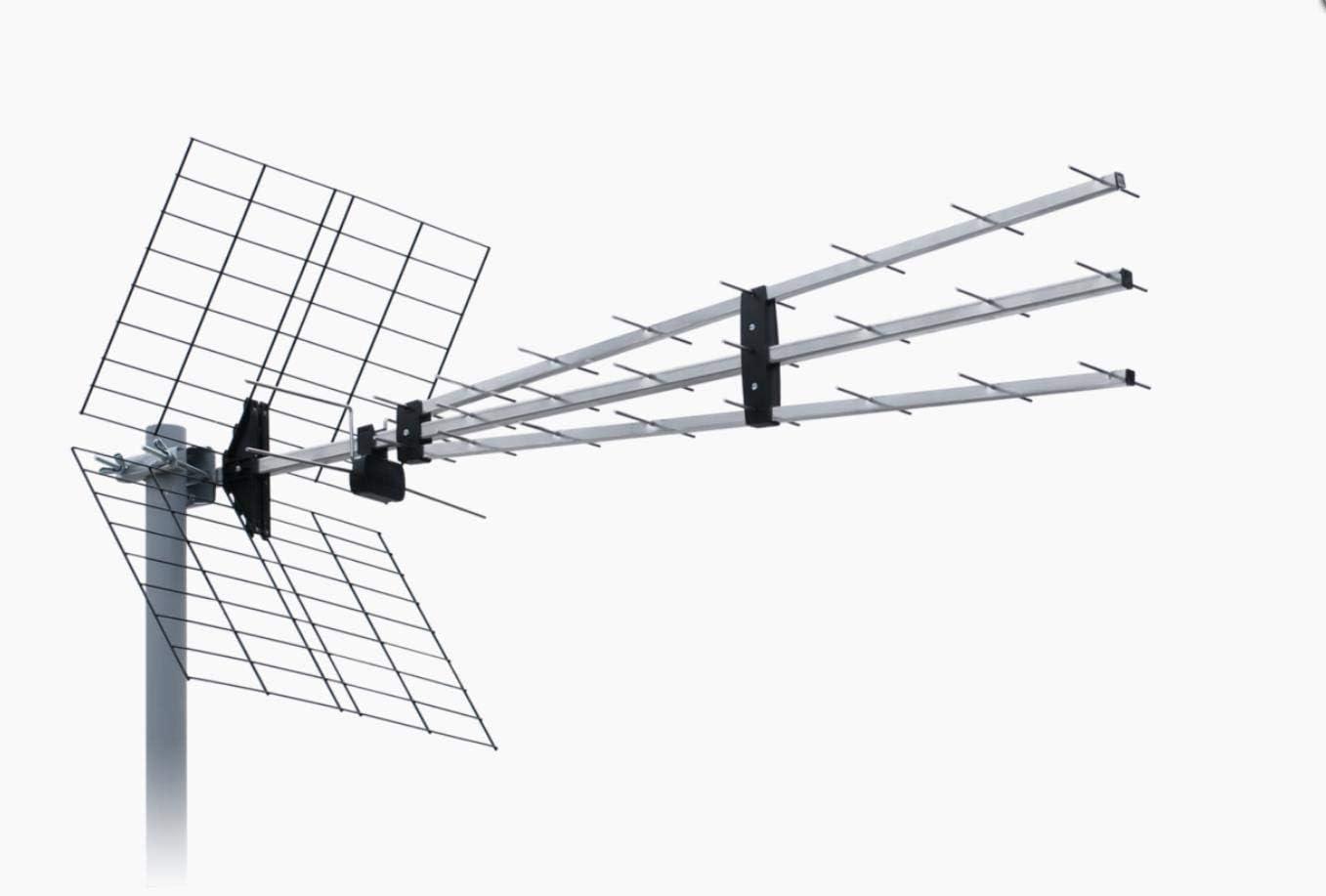 ISKRA - Antena DVB-T UHF P-43N Triplex 9,5-15dBi YAGI UHF TV ...