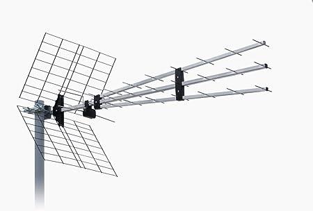 ISKRA - Antena DVB-T UHF P-43N Triplex 9,5-15dBi YAGI ...