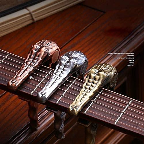 Peanutaso Alice Kirsite Crocodile Clamp para Guitarra eléctrica y ...